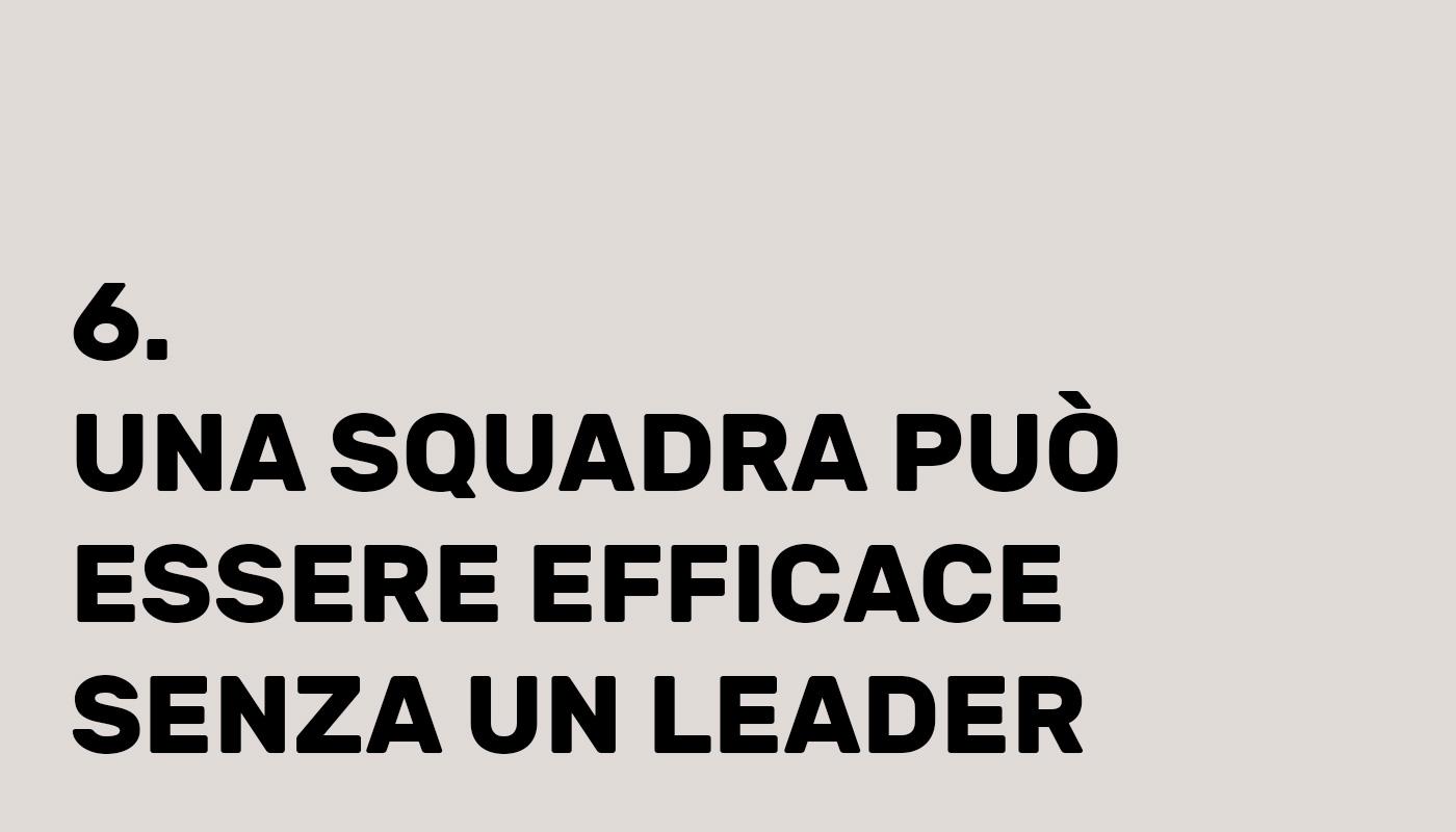 Abbiamo bisogno di leader?