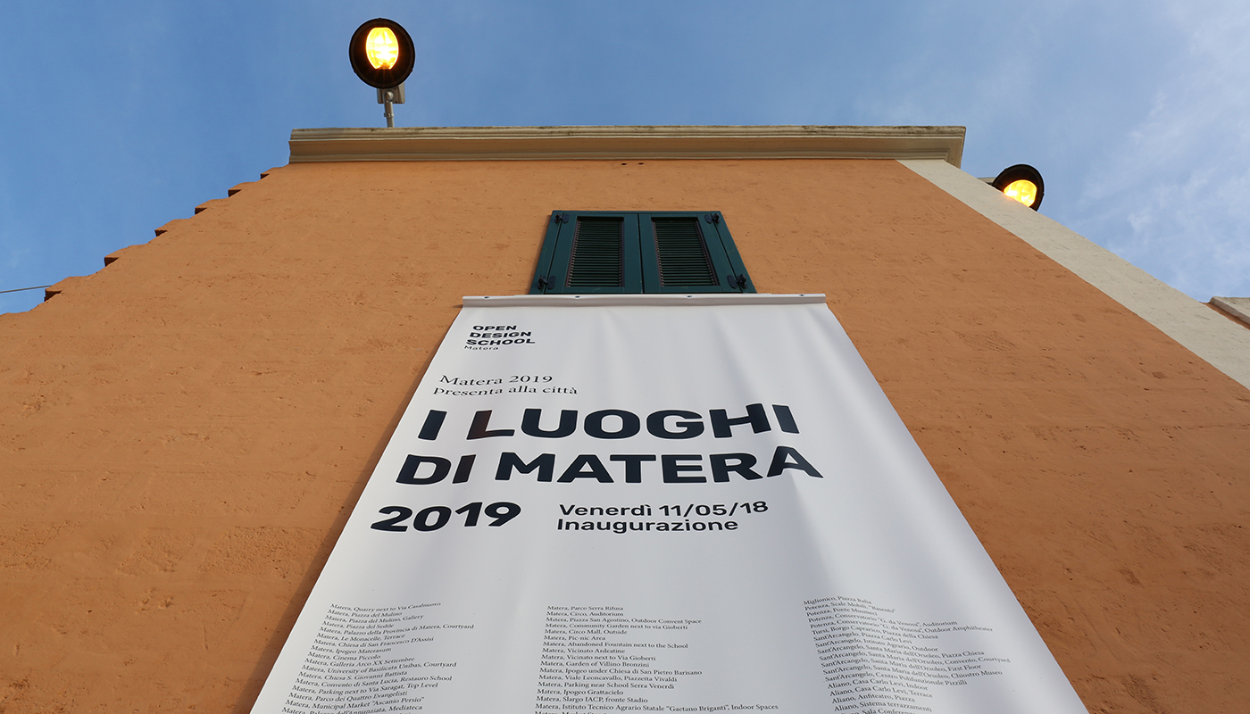 The Venues of Matera 2019 - The Exhibition, the video, the map