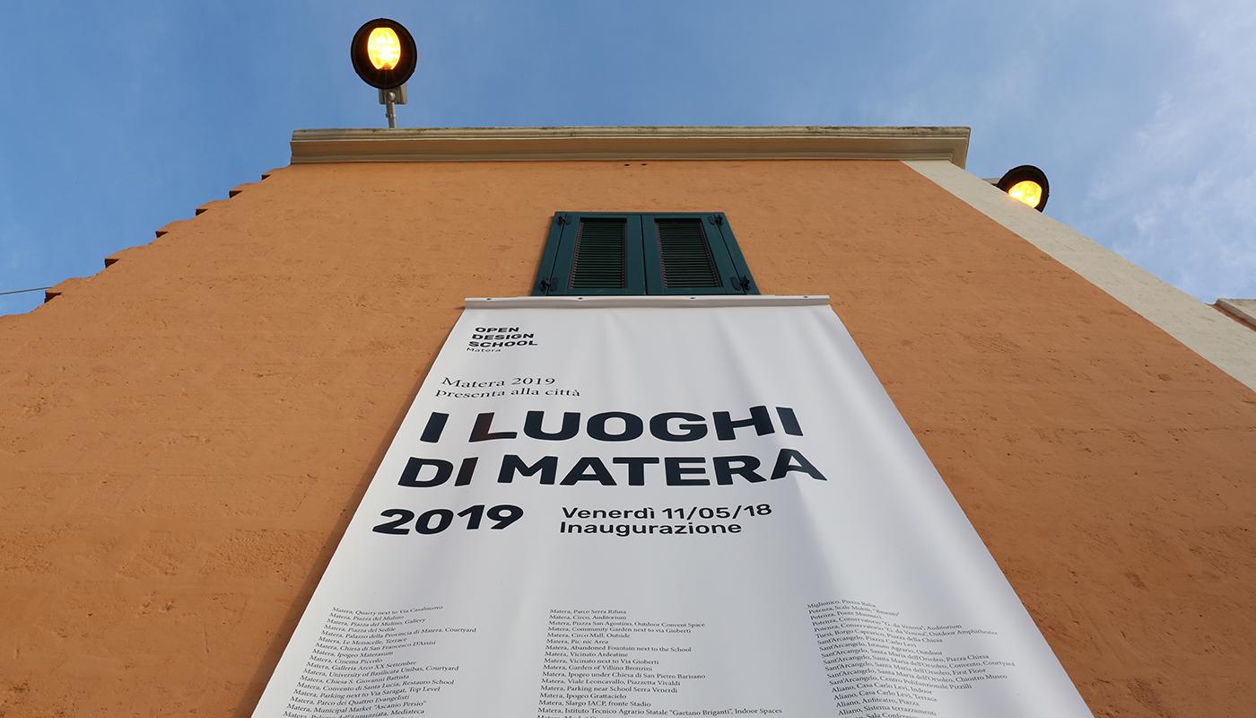I Luoghi di Matera 2019 - La mostra, il video, la mappa