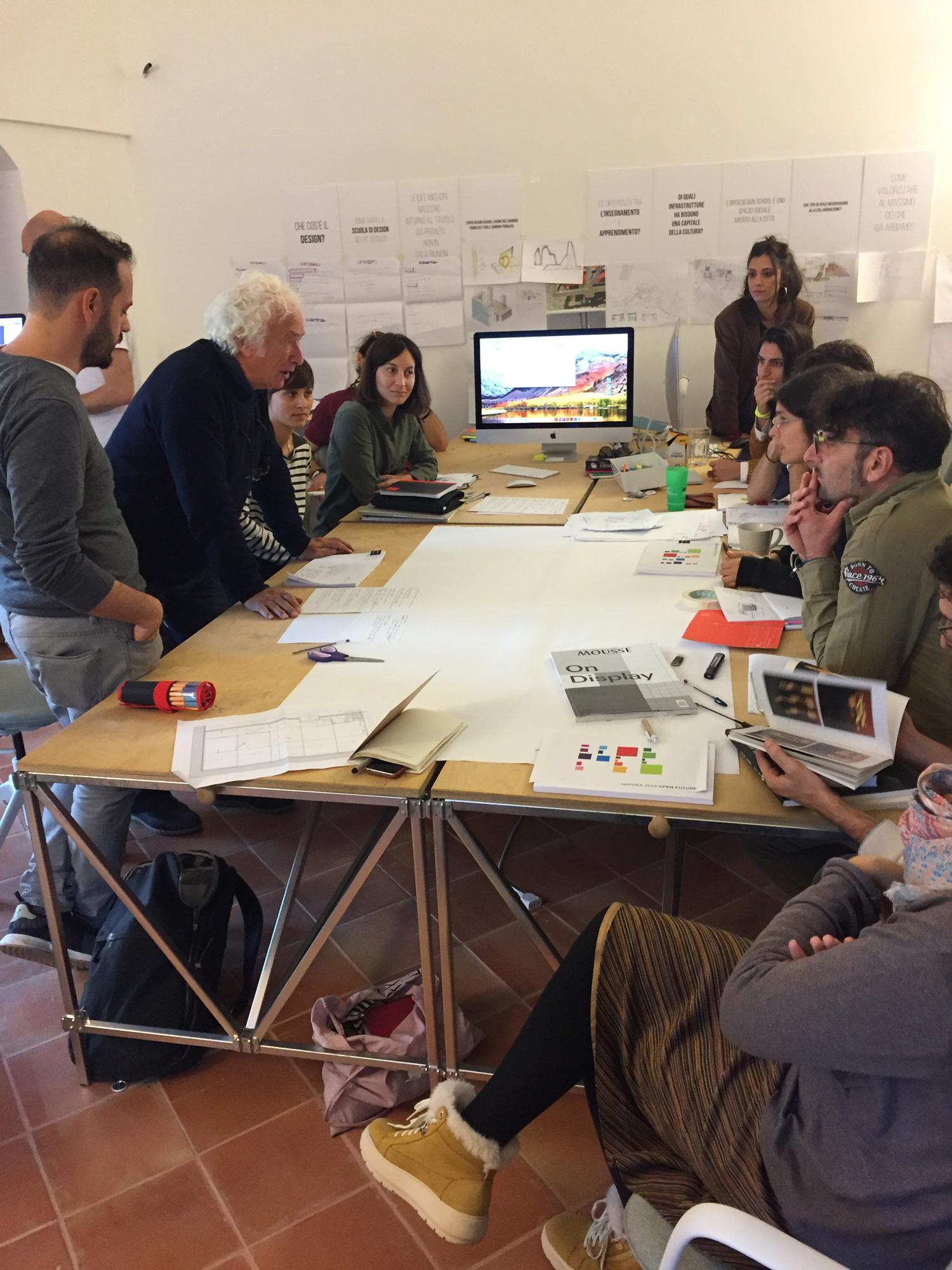 Workshop with Mario Cresci