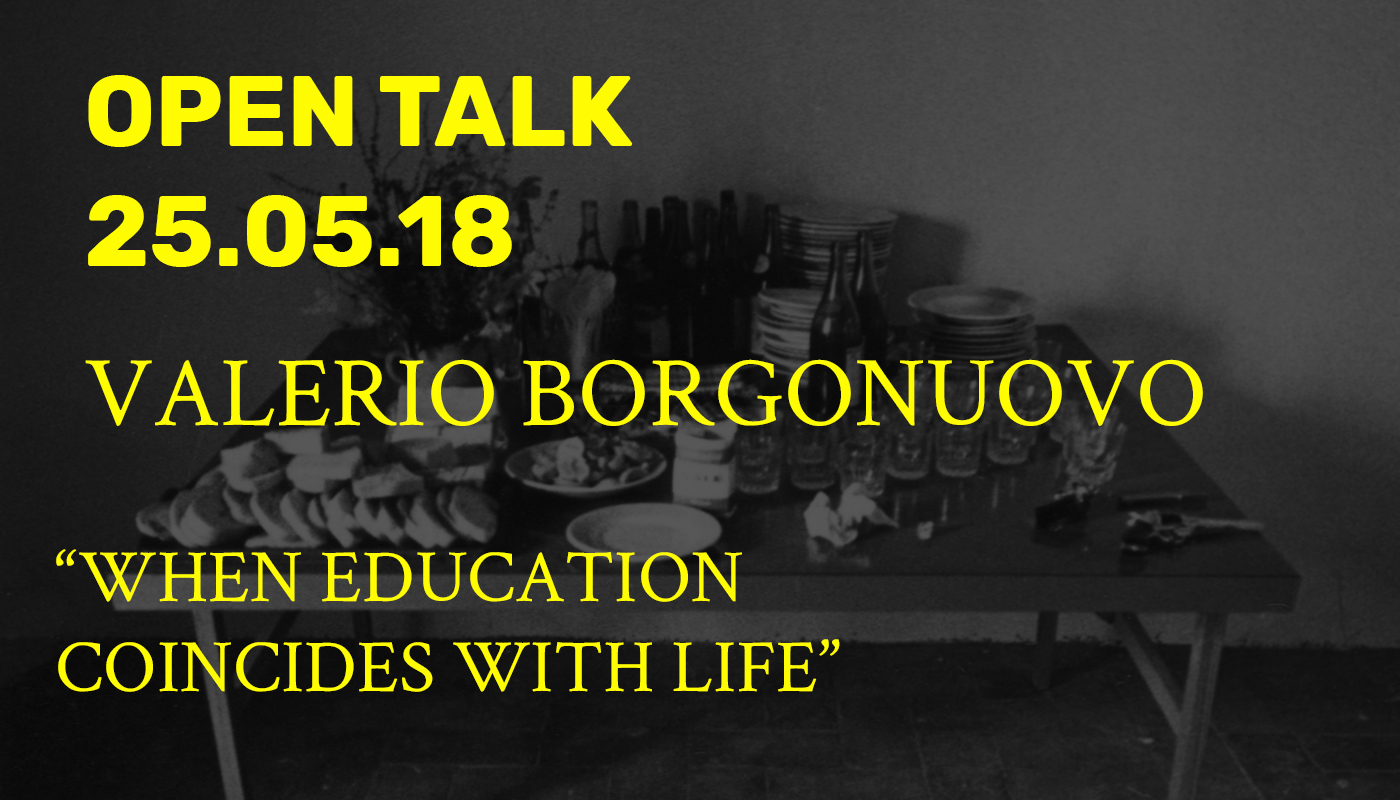 Open Talk - Valerio Borgonuovo -
