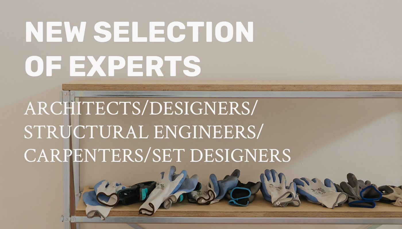 PUBLIC NOTICE FOR THE SELECTION OF EXPERTS FOR THE DESIGN AND THE REALIZATION OF THE EQUIPMENTS FOR MATERA 2019 EVENTS