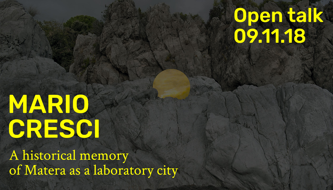 Open Talk - Mario Cresci