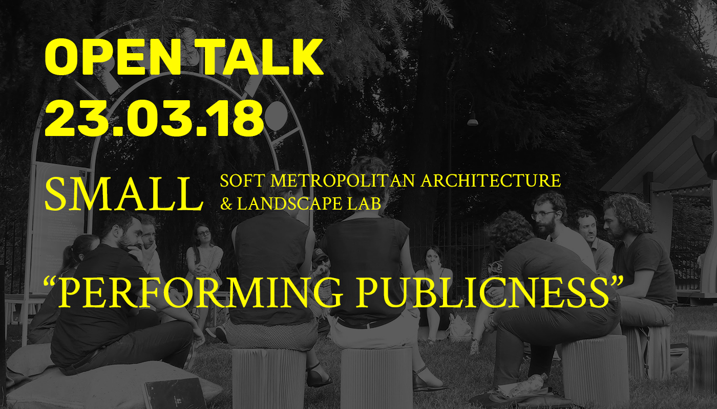Open Talk - SMALL Lab -