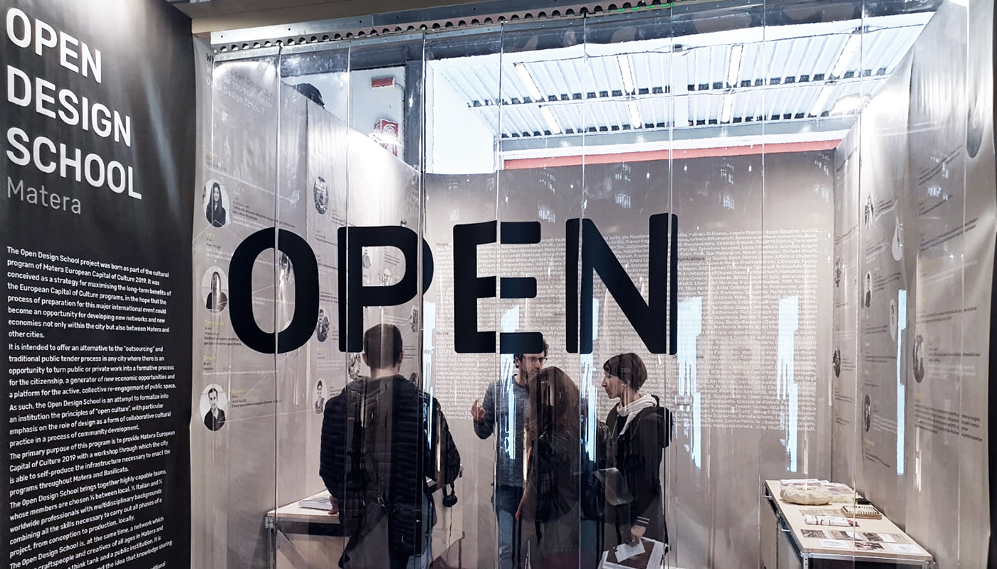 Let's keep it OPEN - Open Design School al Salone Satellite 2019